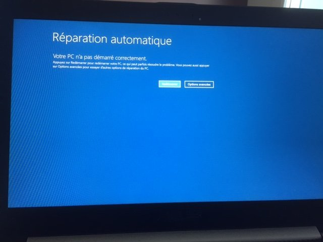 Bug Windows 10 Reparation Automatique Jerome Guyonnet
